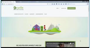 Recyclix Online Geld verdienen mit Müll recyclen