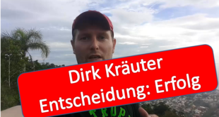 dirk kräuter entscheidung erfolg online geld verdienen business in the world