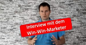 Interview mit dem win-win-Marketer