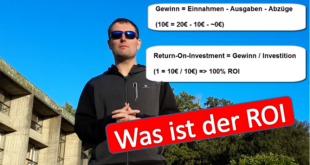 was ist der return on investment roi
