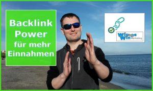 Backlink Power für mehr Einnahmen