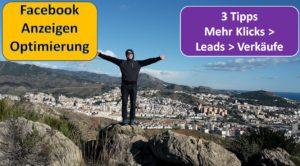 Facebook Anzeigen Optimierung mehr klicks leads verkäufe