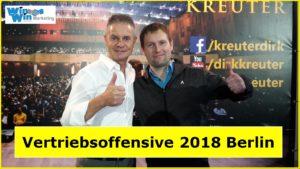 Vertriebsoffensive 2018 Berlin Dirk Kreuter Lars Pilawski