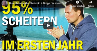 95 % scheitern beim online marketing