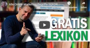 Gratis Lexikon für Online Marketing online geld verdienen