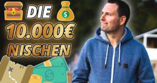Nischen für mehr als 10000 Euro monatlichen Umsatz