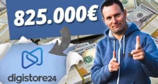 Wie ich 825000 Euro mit Onlie Marketing verdient habe