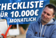 10000 Euro Online Marketing Checkliste