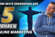 Meine 5 besten Erkenntnisse im Online Marketing
